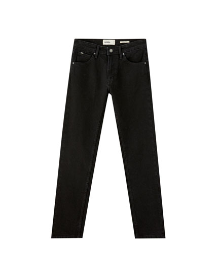 Jean regular comfort fit noir