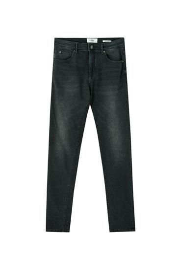 Jeans super skinny efecto lavado