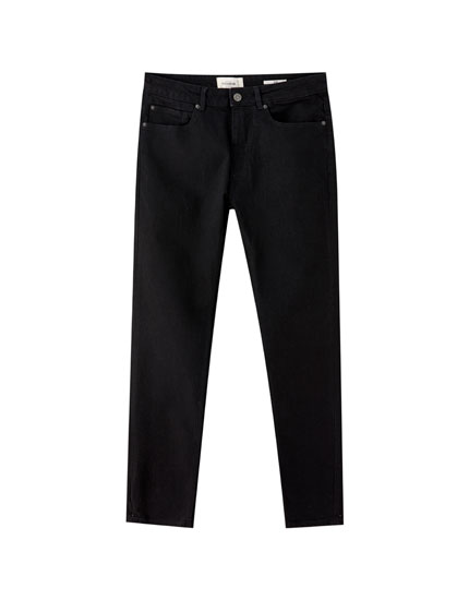 Black slim fit comfort jeans
