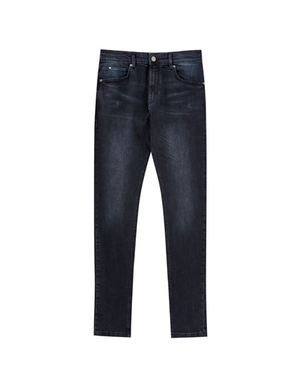 Jeans super skinny oscuros