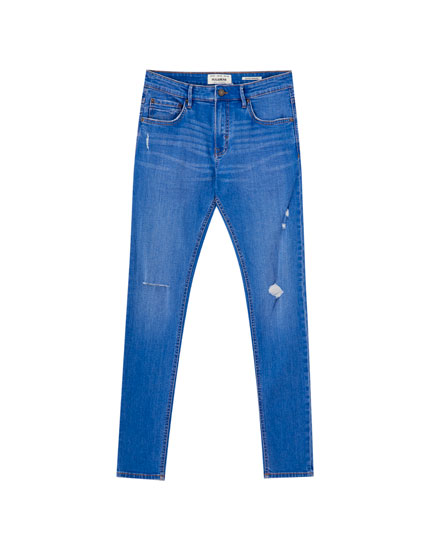 Jeans super skinny color