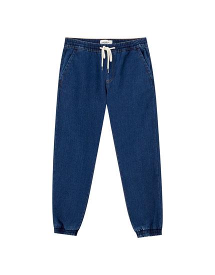 Τζιν παντελόνι jogger
