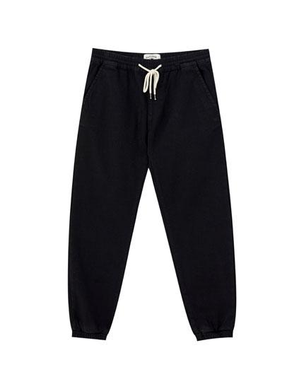Pantalón vaquero jogger