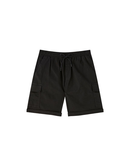 Colourful cargo Bermudas