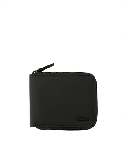 Black coin wallet