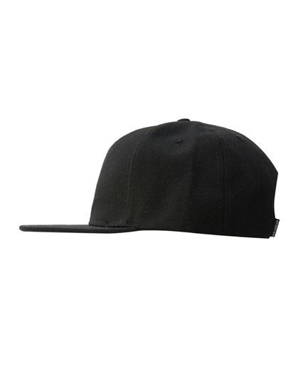 Gorra beisbolera negra