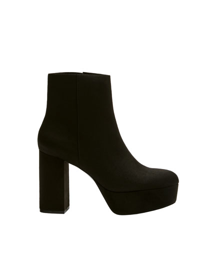 Urban high-heel ankle boots