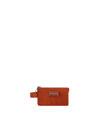 Mini orange wallet