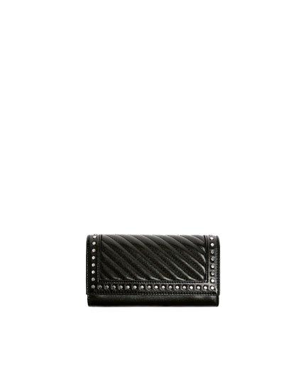 Padded clutch with studs