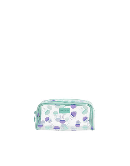 Jellyfish toiletry bag