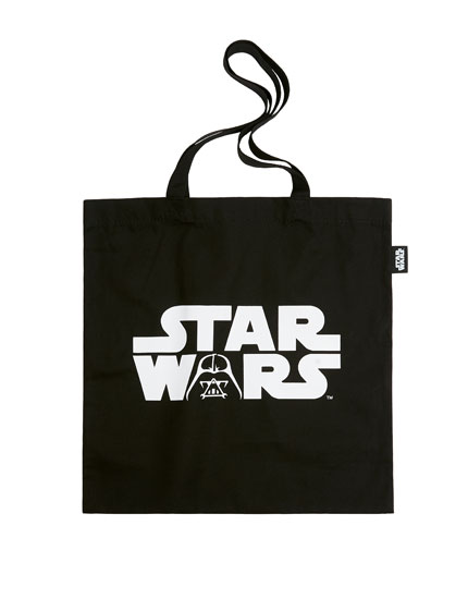 "Black ""Star Wars"" tote bag"
