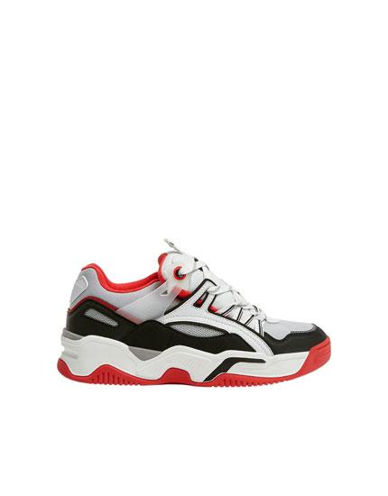Sneakers skate rétro