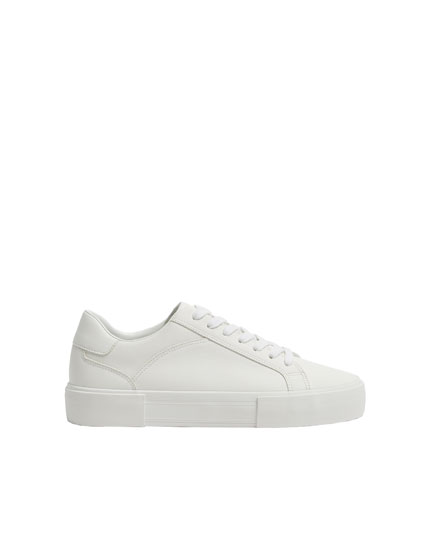 Embossed trainers