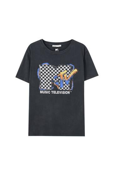 Check MTV T-shirt