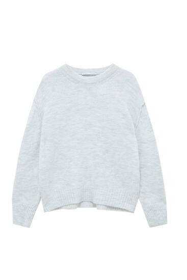 Basic soft knit sweater