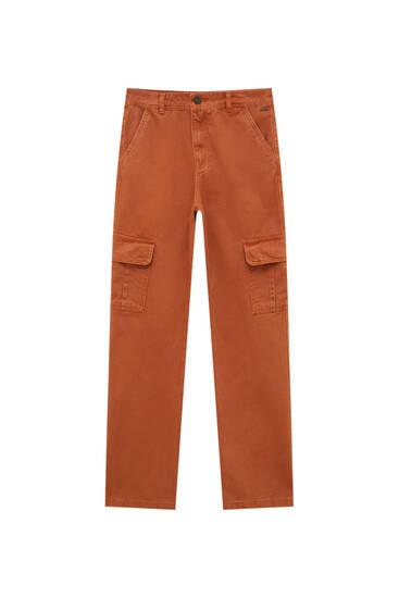 Pantalón cargo básico