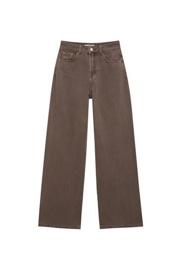Jeans wide leg color