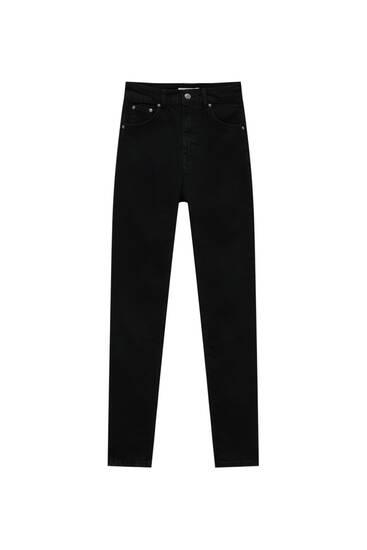 Basic cotton push-up jeans