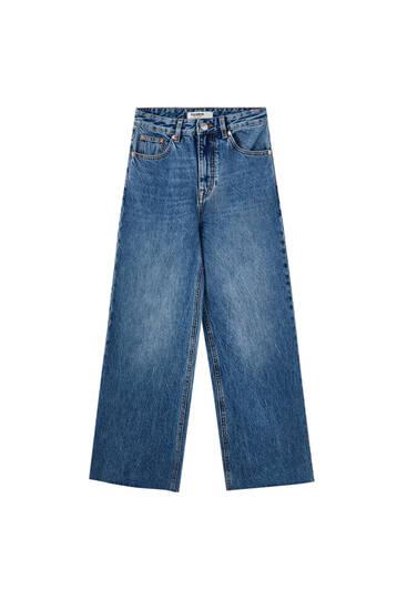 Basic culotte jeans