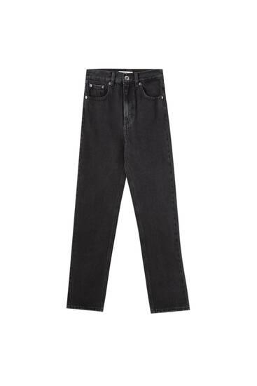 Basic-Mom-Jeans - Biobaumwolle (mindestens 50%)