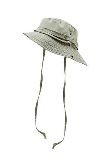 Safari print bucket hat