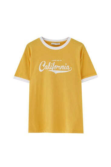Basic T-shirt with varsity