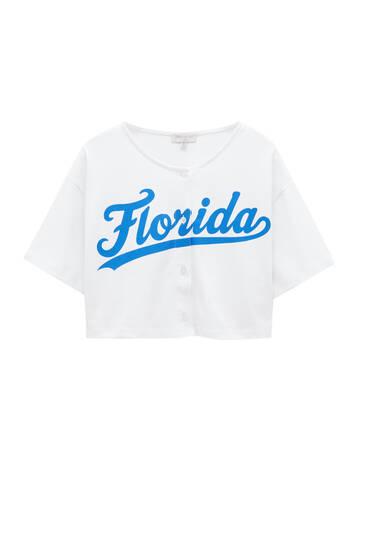 Camiseta béisbol Florida