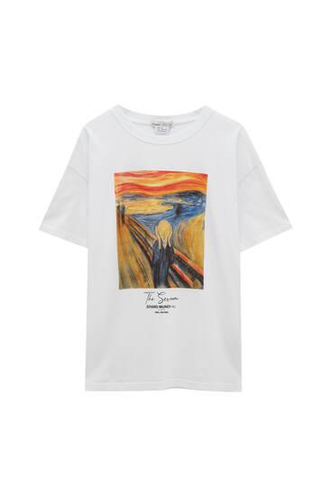 """Munch's """"The Scream"""" T-shirt"""