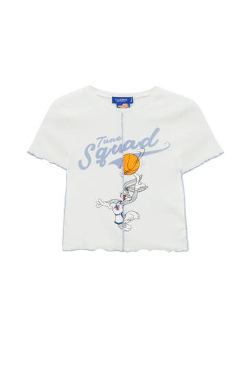 Space Jam Bugs Bunny T-shirt with seams