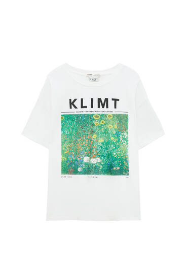 Klimt Sunflowers T-shirt