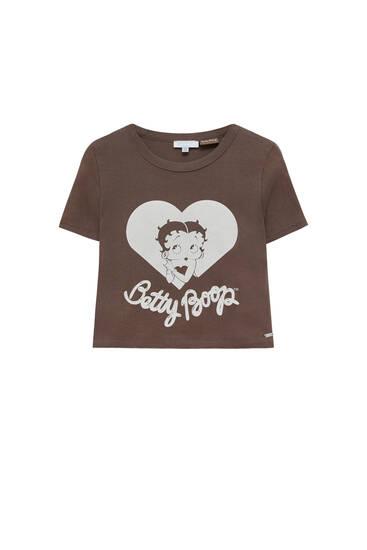 Betty Boop brown t-shirt