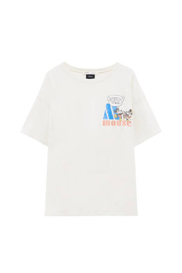 Mickey Mouse illustration T-shirt