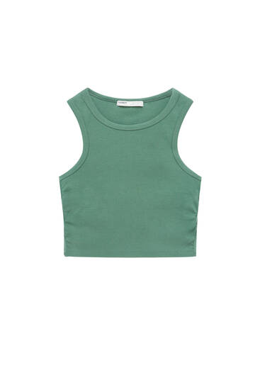 Retro cut-out top