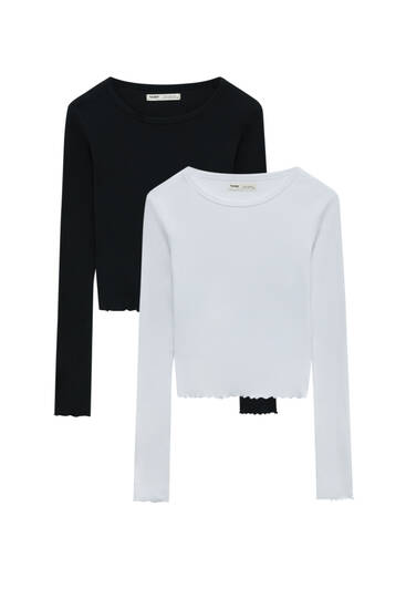 Pack of long sleeve T-shirts