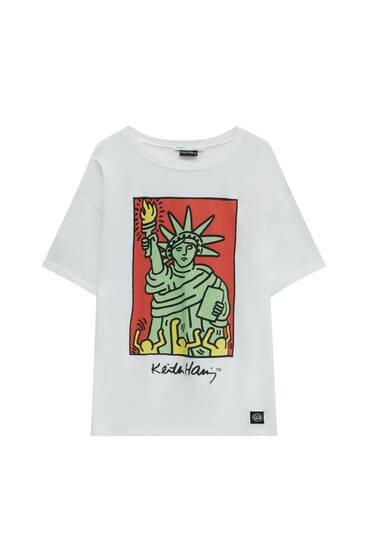 White Keith Haring T-shirt
