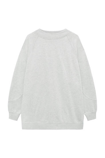 Robe sweat manches longues
