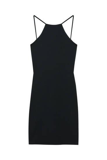Short halter neck dress