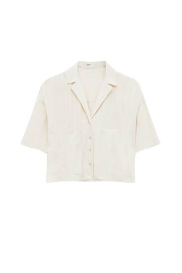 Camisa rústica bolsillos