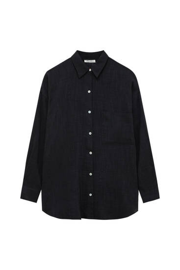 Rustic shirt with pocket