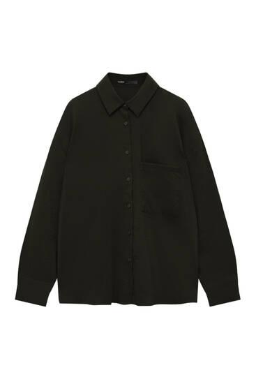 Camisa básica bolsillo