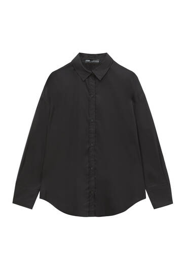 Camisa popelín básica