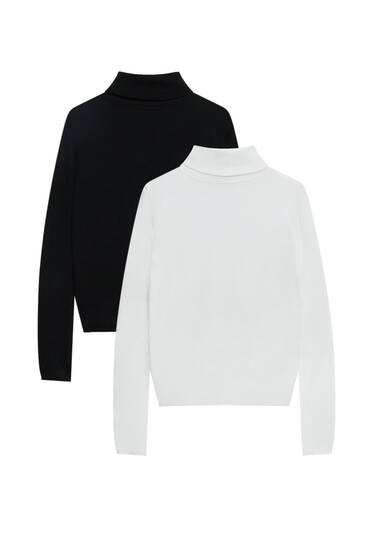 Pack of high neck sweaters