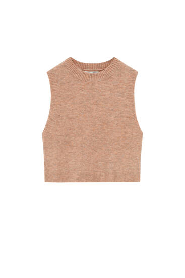 Basic knit vest