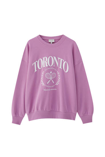 Ροζ φούτερ Toronto