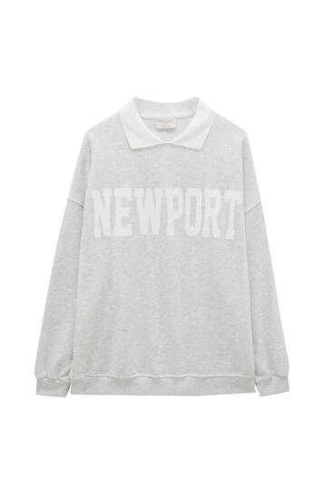 Sweat Newport col polo