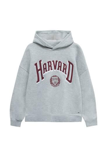Sweat gris Harvard