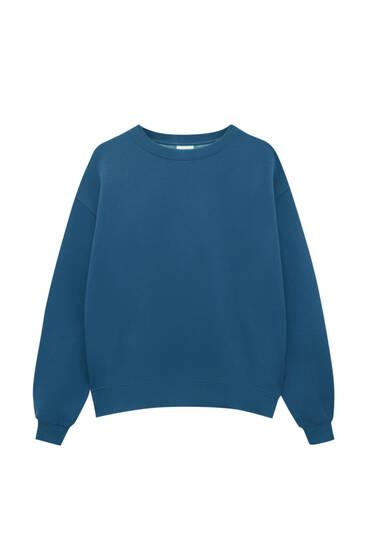 Basic round neck oversize sweatshirt
