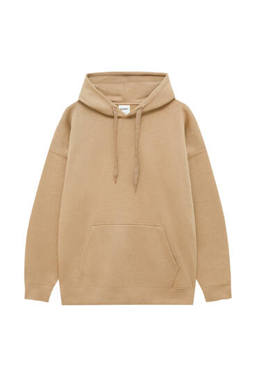 Oversized sweater capuchon