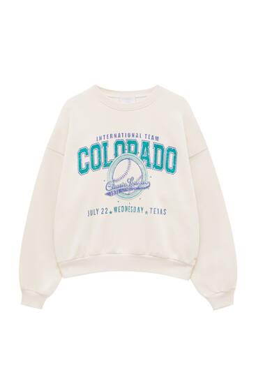 Sweat imprimé Colorado