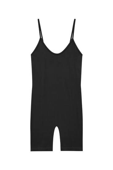 Comfort fit strappy playsuit